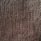Brown Melange Justin Cable Alpaca Hat