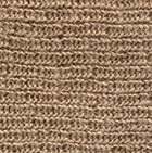Beige Double Knit English Alpaca Hat