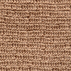 Beige Double Knit English Alpaca Hat
