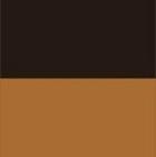 Brown Mlge.-Tan Ladies Reversible Alpaca Toggle Coat with Fur