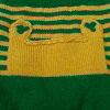 Pistachio Green-Mustard Yelow Alpaca Dog Overall