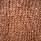 Alpaca Mens Handmade Fingerless Gloves in Cinnamon Melange