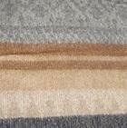 C0316-Camel/Grey/Silver Alpaca Cherokee Blanket