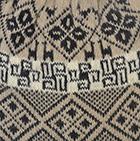 Beige Reversible Nazca Knit Hat