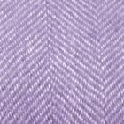 Lilac-Natural Woven & Brushed Herringbone Baby Alpaca Throw