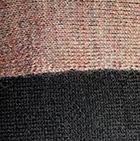 Henna Mlge-Black Double-Face Alpaca Knit Ruana Wrap