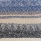 C0364-Charcoal-Steel Alpaca Cherokee Blanket