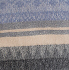 C0365-Charcoal-Powder Blue Alpaca Cherokee Blanket