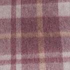 102-09-Burgundy-Lt. Grey-Beige Scottish Blanket