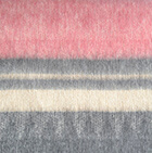 C0372-Charcoal-Rose Alpaca Cherokee Blanket