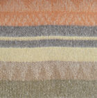 Alpaca Cherokee Blanket in CO272-Camel-Peach