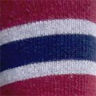 Navy-Cherry-Sport Grey. Multi Striped Simply Alpaca Socks