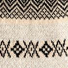 Beige-Black Nayeli Baby Alpaca Infinity Scarf