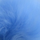 Powder Blue PREMIUM Baby Alpaca Fur - Classic Ornament 12 inches