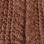 Cinnamon Melange Alpaca Cable Fingerless Gloves