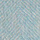 Natural-Turquoise Woven & Brushed Herringbone Baby Alpaca Throw