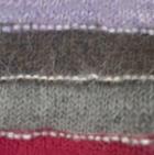 Grey Mlge.-Multicolor Striped Alpaca Long Fingerless Gloves