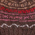 Brown Mlg. Baby Alpaca Toddler Hat
