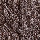 Mixt.Brown Mlge.-Natural Arlette Baby Alpaca Tie Scarf