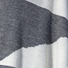 Grey-Charcoal-Natural Asymmetric Baby Alpaca Shawl