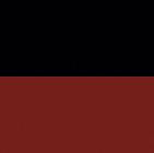 Black-Red Alpaca Reversible Riding Hood Cape