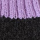 Charcoal.-Lavender Tassel Baby Alpaca Hat