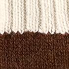 Brown.-Natural Tassel Baby Alpaca Hat