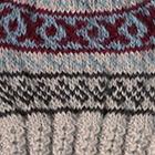 Beige Andean Cable Alpaca Kids-Hat