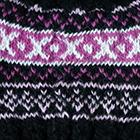 Black Andean Cable Alpaca Kids-Hat