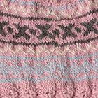 Rose.-Comb2 Andean Cable Alpaca Kids-Hat