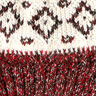 Dallas Baby Alpaca Hat in Mixt. Natural-Red
