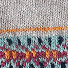 Otuzco Baby Alpaca Fingerless Gloves in Lt. Grey