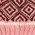 Pink Jade.-Brown Abbie Alpaca Kids-Hat