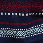 Navy Country Meadow Alpaca Sweater