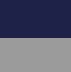 Dk.Royal Blue-Grey Melange. Reversible Alpaca Coat With Pockets