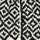 Natural-Black Mackenzie Baby Alpaca Fingerless Gloves