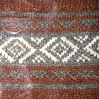 Amber Mlge-Grey Mlge. Ethnic Baby Alpaca Infinity Scarf