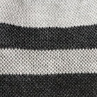 Comb. Grey-Black Reversible Sand Dune Baby Alpaca Hat