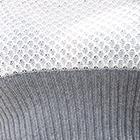 Natural-Steel Grey Cotton Baby Alpaca Breeze Poncho Cape