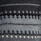 Grey Mlge.-Charcoal Woodland Alpaca Cardigan