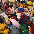 Mixed Alpaca Finger Puppets - Pack 25 - Various