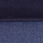 Navy-Denim Woven & Brushed Double Face Baby Alpaca Scarf-Heavy Weight