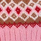 Rose.-Multicolor 2 Cabin Alpaca Kids Hat