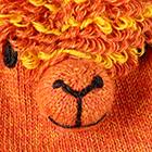 Orange Alpaca Kids - Alpaca Fingerless Gloves