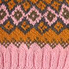 Rose.-Multicolor 5 Cabin Alpaca Kids Hat