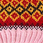 Rose.-Multicolor 7 Cabin Alpaca Kids Hat