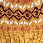 Mustard Yellow.-Multicolor2 Jasper Alpaca Kids-Hat
