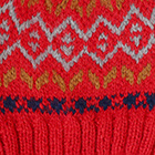Bright Red.-Multicolor1 Jasper Alpaca Kids-Hat