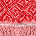 Pink Jade.-Bright Red Abbie Alpaca Kids-Hat