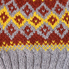 Grey Mlge.-Multicolor2 Cabin Alpaca Kids Hat